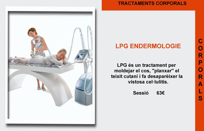 fanny centre estetica el masnou tractament corporal lpg tratamiento corporal LPG