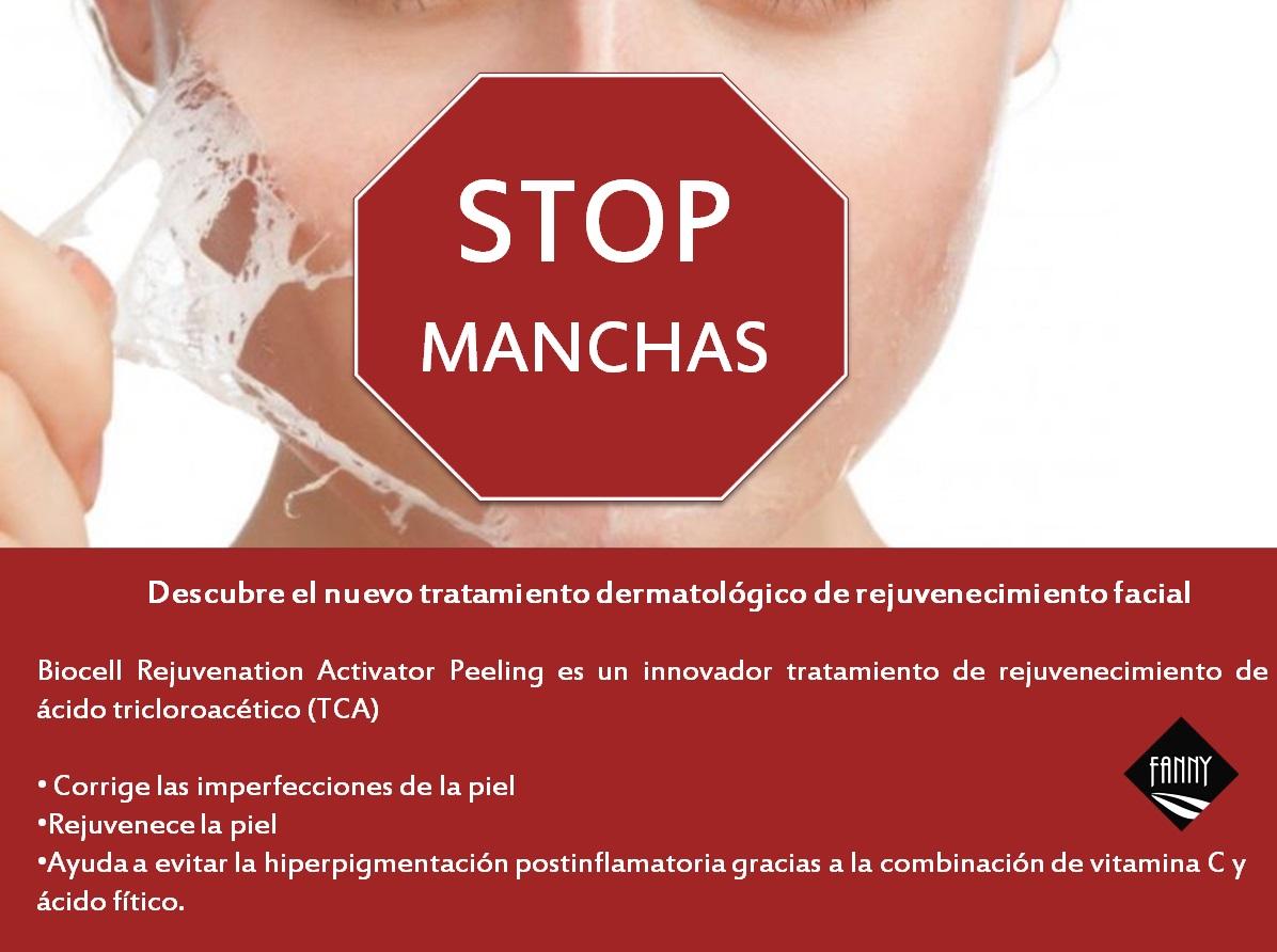 Fanny centre estetica el masnou elimina taques facials amb el peeling Biocell Rejuvenation Activator de Isdin