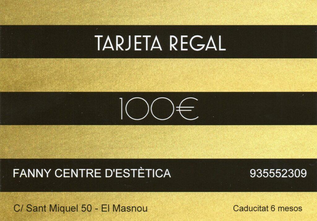 Tarjeta regal de 100€