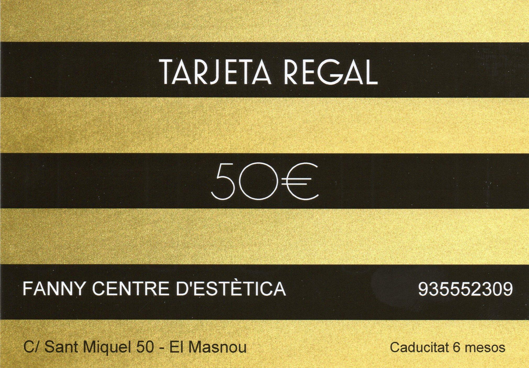 Tarjeta regal de 50€